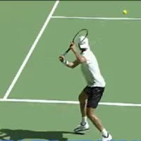 Watch and share Tommy Haas Backhand GIFs on Gfycat