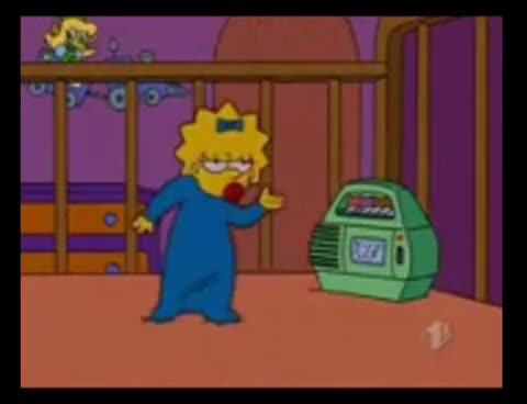 Watch and share Simpsons GIFs and Maggie GIFs on Gfycat