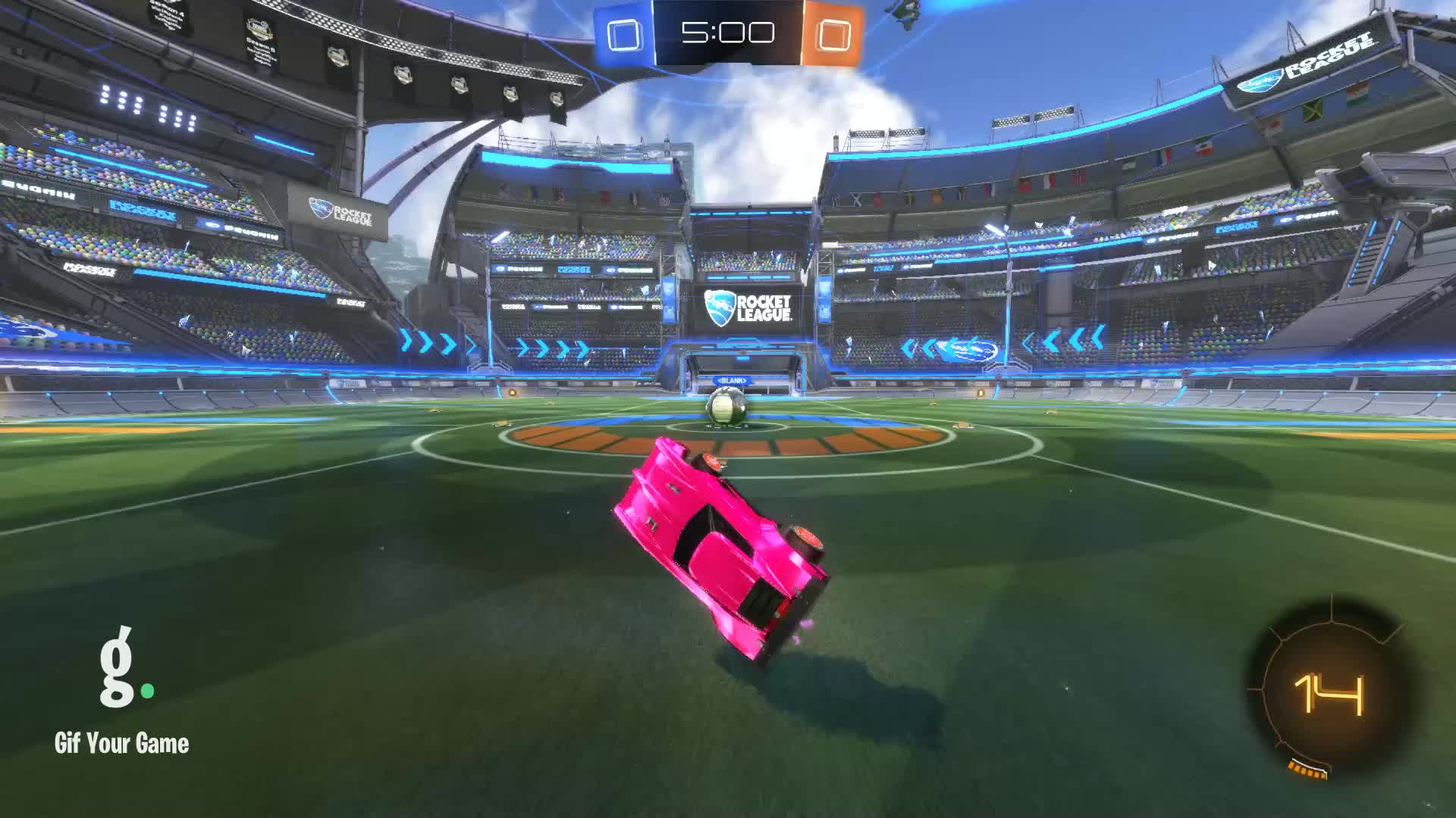 Gif Your Game, GifYourGame, Goal, MrFudgeisgood, Rocket League, RocketLeague, ⏱️ Goal 1: MrFudgeisgood GIFs