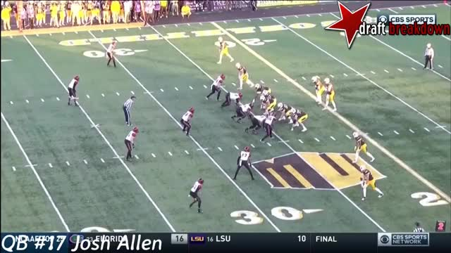 Watch and share Josh Allen Vs San Diego(2016) GIFs by wesdunphy on Gfycat