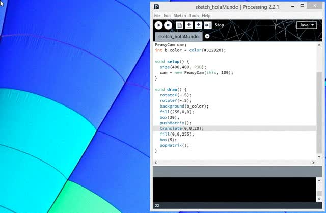 Watch Processing Example GIF on Gfycat. Discover more related GIFs on Gfycat