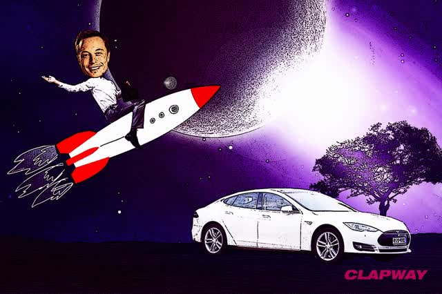 Watch and share Elon Musk SpaceX Tesla Clapway GIFs on Gfycat
