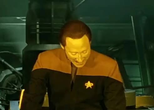 Watch and share Star Trek GIFs and Voila GIFs by free_speak on Gfycat