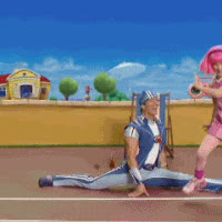 lazy town photo: lazy town c21447e98fb8e49929b7634a79a860df.gif GIFs