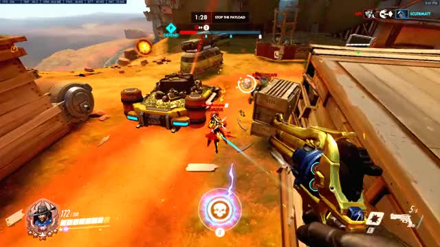 Watch and share Overwatch GIFs and Mccree GIFs by l1ghts on Gfycat