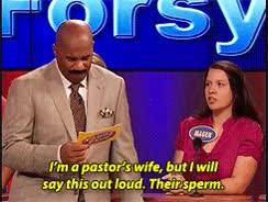 Watch gif family feud Steve Harvey family feud* GIF on Gfycat. Discover more related GIFs on Gfycat