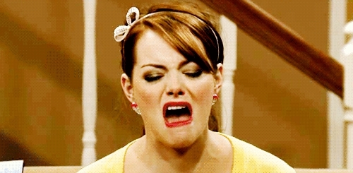 disgusting, emma stone, ewww, Emma is disgusted! GIFs