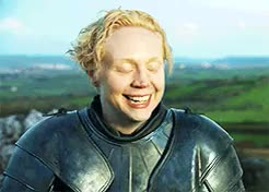 Watch and share Gwendoline Christie GIFs and Brienne Of Tarth GIFs on Gfycat