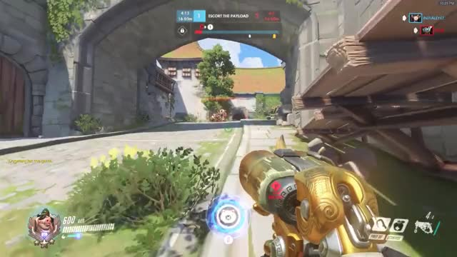 Overwatch roadhog play of the game video