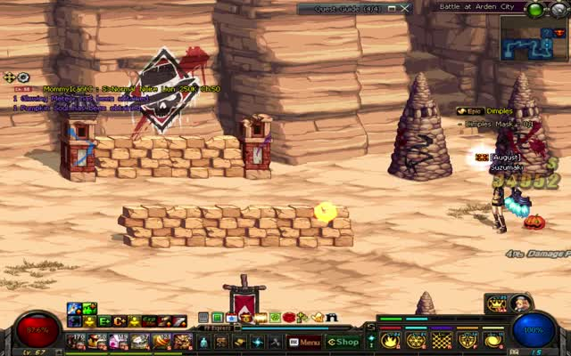 Watch Graphical glitch with familiar Jack and enemy Jack projectil GIF on Gfycat. Discover more Dungeon Fighter Online, Glitch, dfo GIFs on Gfycat