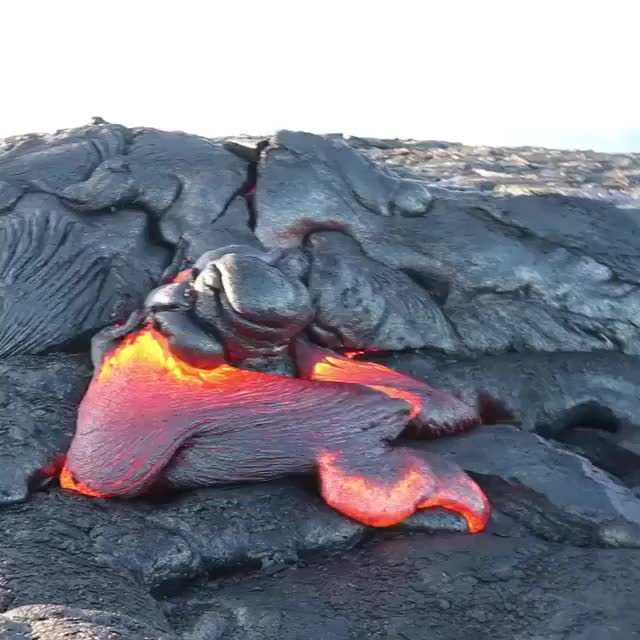 Watch and share Magma GIFs and Lava GIFs by Jackson3OH3 on Gfycat