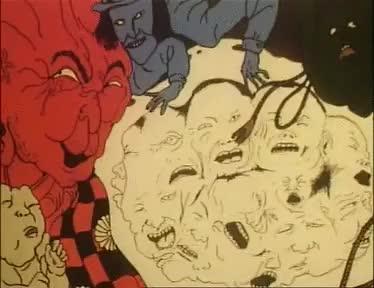 Watch Midori (1992) GIF on Gfycat. Discover more demons, eroguro, hell, midori, suehiromaruo, torment GIFs on Gfycat