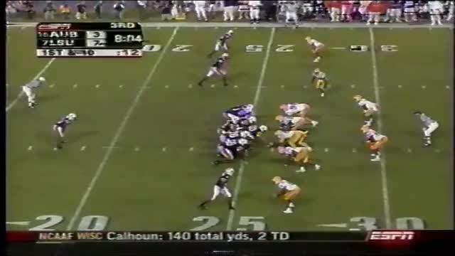 Watch and share Auburn Vs. LSU 2005 (Kenny Irons 74-Yard TD) GIFs on Gfycat