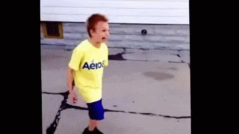 Watch Crazy kid gets hit in the head with a basketball GIF on Gfycat. Discover more related GIFs on Gfycat