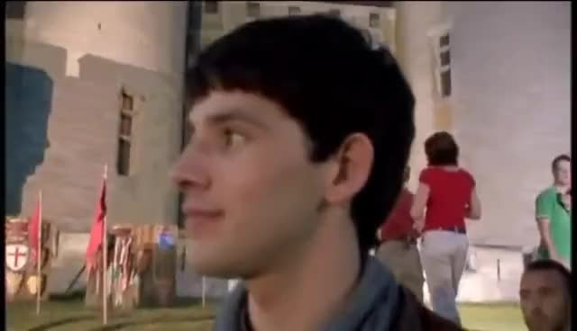 Watch and share Colin Morgan GIFs and Flirting GIFs on Gfycat