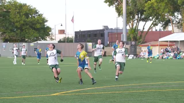 Watch Peter Graffy Sky — 2018 AUDL Playoffs GIF by American Ultimate Disc League (@audl) on Gfycat. Discover more 2018 playoffs, Sports, TheAUDLChannel, american ultimate disc league, audl, highlights, indianapolis alleycats, madison radicals, ultimate frisbee GIFs on Gfycat