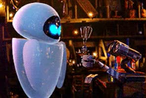 Watch and share Walle GIFs on Gfycat
