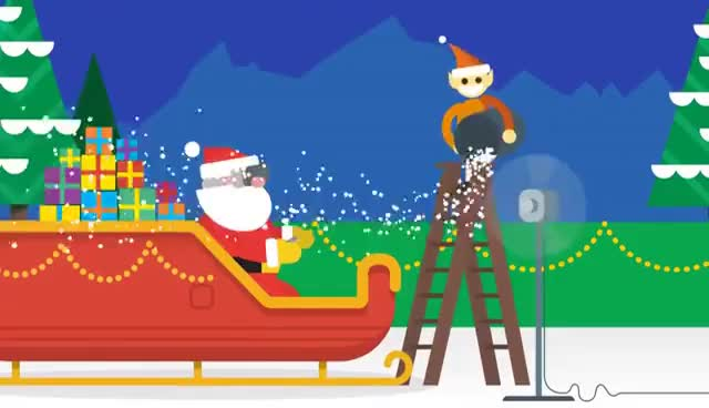 Watch and share Santa Tracker: Back To Work GIFs on Gfycat