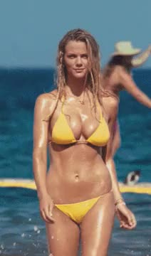 brooklyn Decker showing off