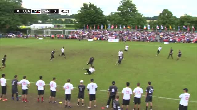 Watch and share WUGC 2016 - USA Vs Canada Men's Semifinal GIFs on Gfycat