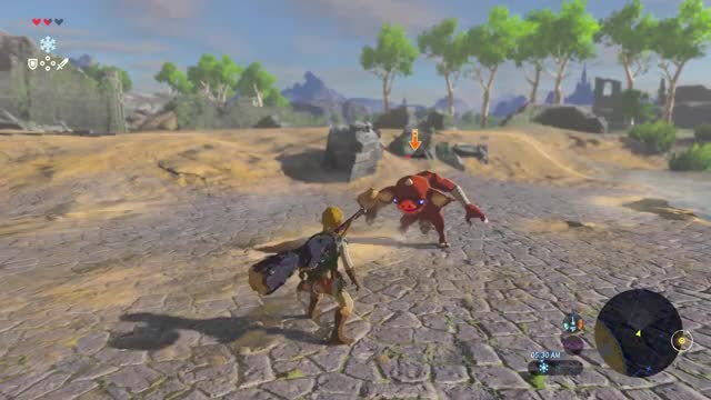 Watch and share Breath Of The Wild GIFs and Zelda GIFs on Gfycat