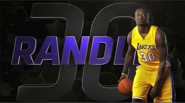 Watch Randle with the crossover, left handed hook [gfy] (reddit) GIF on Gfycat. Discover more related GIFs on Gfycat