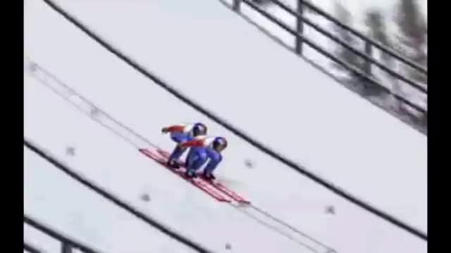 Watch and share Ski Jumping Pairs GIFs on Gfycat