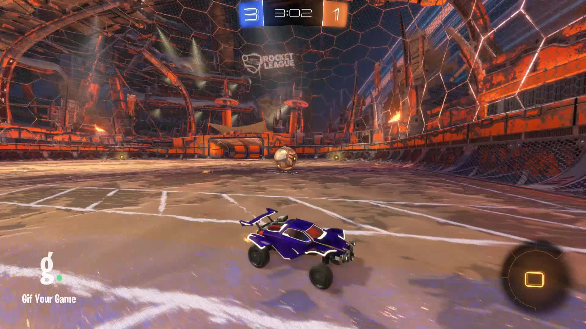 Gif Your Game, GifYourGame, Goal, Linux Cow | Ceiling shots only?, Rocket League, RocketLeague, Goal 5: Linux Cow | Ceiling shots only? GIFs