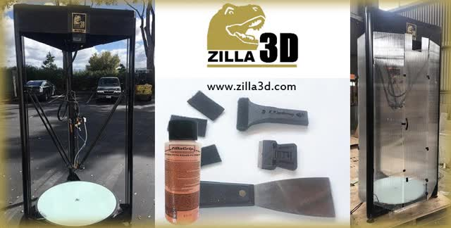 Watch and share Makerspace 3d Printer GIFs by Zilla 3D on Gfycat
