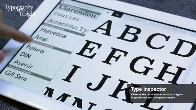 Typography Insight with Adobe Typekit - toolkit for learning and
