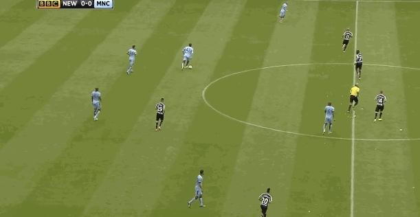 NUFC 0-1 MCFC GIFs