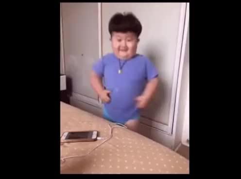Watch and share Mini Kim Jong-un Bailando Cumbia GIFs on Gfycat