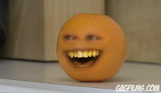 Watch and share Annoying Orange GIFs on Gfycat