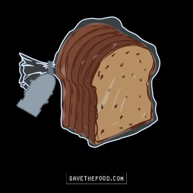 Watch this best if used GIF by Save The Food (@savethefood) on Gfycat. Discover more best if used, bread, food, food waste, save the food GIFs on Gfycat
