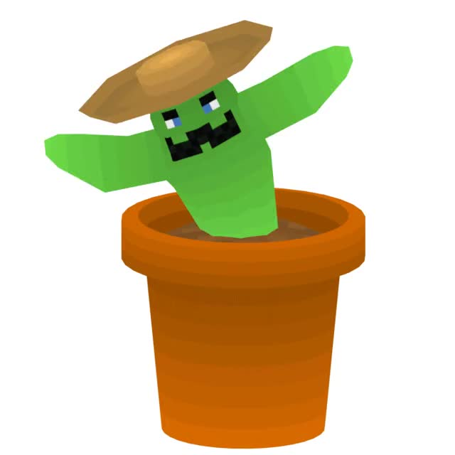Watch and share Dancing Cactus, Sir Saguaro Pricklebottom By Nolfinkol GIFs on Gfycat