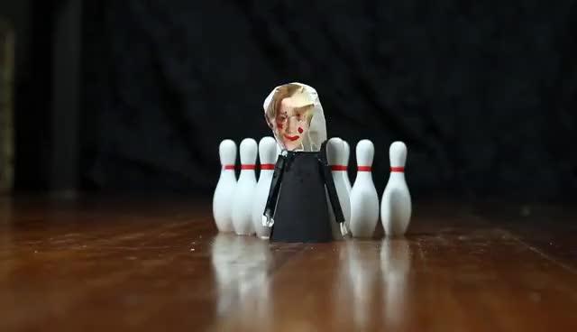 draco harry potter, Draco likes bowling GIFs