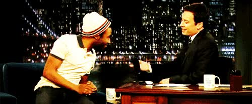Watch and share Donald Glover GIFs and Jimmy Fallon GIFs on Gfycat
