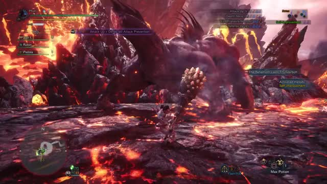 Watch [MHW] Dodge Behemoth ecliptic meteor #2 GIF by @phunishere on Gfycat. Discover more Gaming, Hunter, Monster, Phun, World, yt:cc=on GIFs on Gfycat