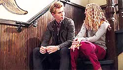 Watch ours is the fury. GIF on Gfycat. Discover more .gifs!, AnnaSophia Robb, Sebastian Kydd, austin butler, carrie bradshaw, kyddshaw, the carrie diaries GIFs on Gfycat