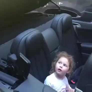 Watch and share Girl Gets Scared Of A Convertible Car! Funny Video! GIFs on Gfycat