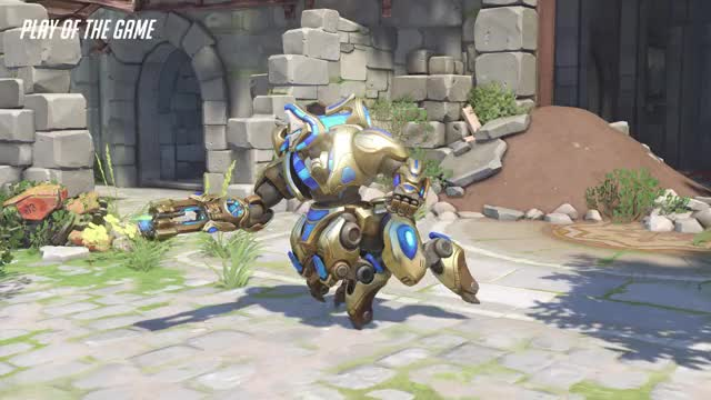 Watch Orisa GIF by @zehoo- on Gfycat. Discover more highlight, orisa, overwatch, potg GIFs on Gfycat