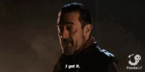 Watch Negan GIF on Gfycat. Discover more related GIFs on Gfycat