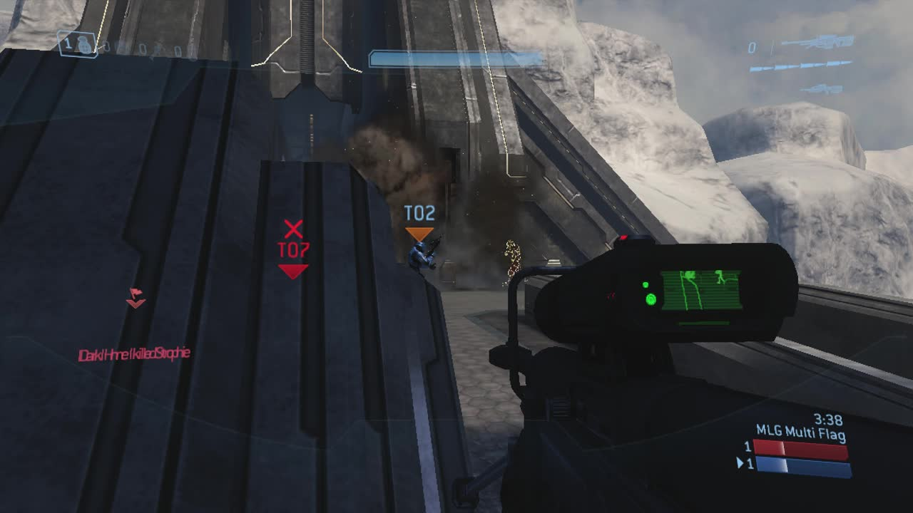 ▷ Halo 3 - Narrows - Man Cannon 1 - MLG - G2A GIF by