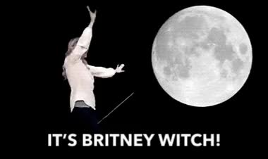 Watch and share Its Britney Witch GIFs and Britney Spears GIFs by Reactions on Gfycat