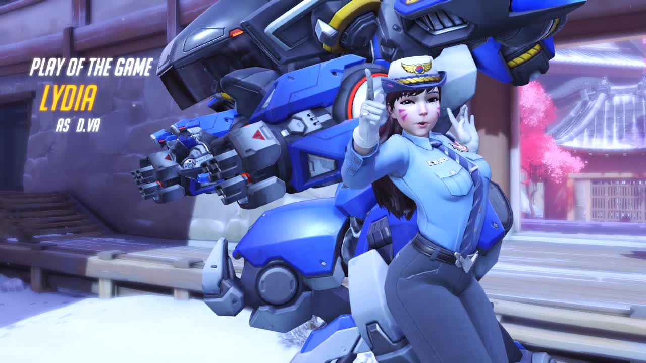 OWmegakill, gamerchick, overwatch, overwatchdva, potg, Who said girls couldn't play OW ? GIFs