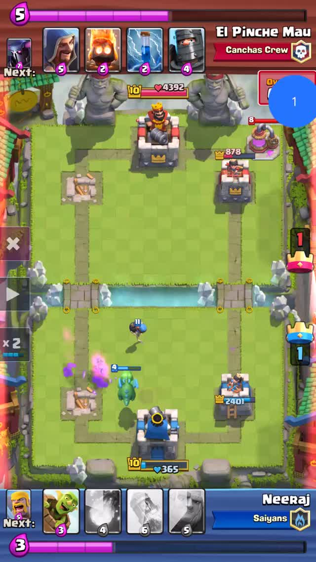 Watch ClashRoyale_QueenComeback GIF by Neeraj Grover (@neerajgrover) on Gfycat. Discover more accidentalcomedy, clashroyale, comeback GIFs on Gfycat