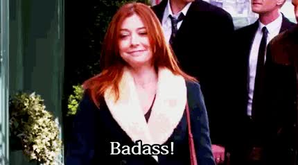 Watch and share How I Met Your Mother GIFs and Alyson Hannigan GIFs on Gfycat