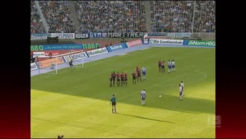 Watch and share Sebastian Dasler. Hertha Berlin - Hansa Rostock. 1999-00 GIFs by fatalali on Gfycat