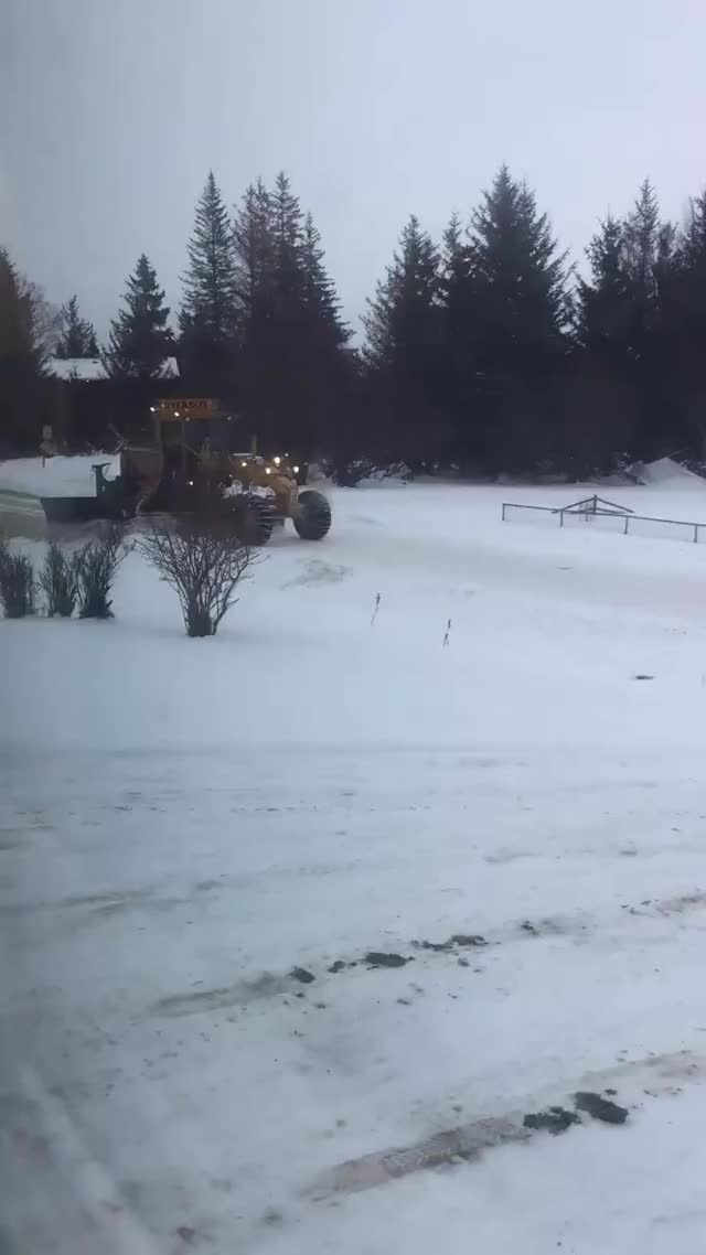 Watch Alaskas version of a snow plow without burying you GIF on Gfycat. Discover more related GIFs on Gfycat