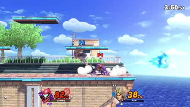 Watch and share Samus Aran Smash GIFs and Smash Edgeguard GIFs by Divination on Gfycat